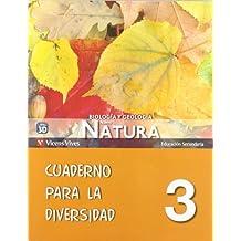 Nuevo Natura 3 Cuaderno Diversidad - 9788468204406