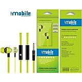 véritable Iphone écouteurs dans l'oreille pour téléphone portable, iPad, iPod, MP3, MP4, lecteur DVD avec micro