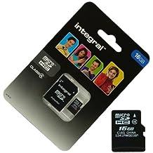 Acce2S–Scheda memoria 16GB per Samsung Galaxy Ace 4Micro SD HC + Adapt SD Integral