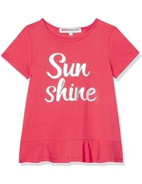 RED WAGON Camiseta con Estampado y mensaje para Niña