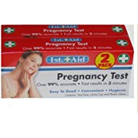 Home Schwangerschaft Test–by 1st Hilfe (2Pack) preisvergleich bei billige-tabletten.eu