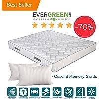 Evergreen Web Materasso Memory Mare Plus 24 Matrimoniale.Evergreen Materassi Materassi Materassi E Basi Letto Amazon It