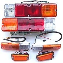 Conjunto de luces traseras, delanteras, izquierdas y derechas, más indicadores intermitentes delanteros,