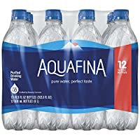 Aquafina Bottled Drinking Water, 12 Count/500ml