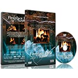 Fire Dvd- Fireplace with Rain and Thunder Sounds