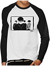 Tony Mottram Official Photography - Jesus And Mary Chain Band Shot Men's Baseball Long Sleeved T-Shirt
