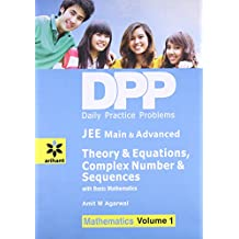 Daily Practice Problems for Theory of Equations, Complex Number & Sequences: Mathematics- Vol. 1