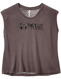 Kaporal - T-shirt - Imprimé - Col bateau - Manches courtes - Fille