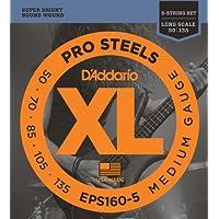 D'Addario EPS160-5 Set Corde Basso Prosteel