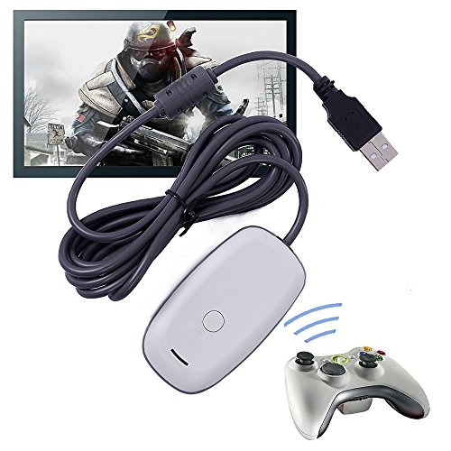 USB PC Steam Video Gaming Receiver Adapter für Xbox 360 Wireless Controller