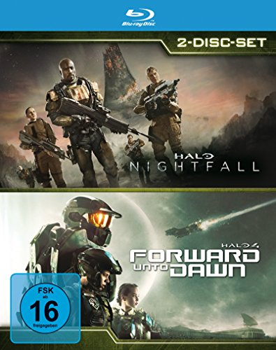 Halo: Nightfall & Halo 4: Forward Unto Dawn [Blu-ray]