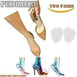pedimendtm selbstklebend Weich Silikon High Heel Schuhe Kissen (4Stück) | Metatarsal Einlagen | Orthotics für Ball von Fuß Schmerzen | verhindern Burning Sensations bei der Ball der Foot | Foot Care