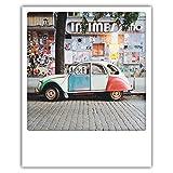 Pickmotion PolaCards Berlin: Hochwertige Polaroid Postkarten im Retro Stil - Motiv: Patchwork