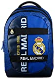 Real Madrid - Mochila Infantil con Ruedas Mixta, Color Azul
