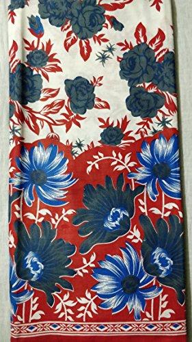 Fashioto 2.5 Meter Unstitched Fabric Cotton fabric hand block print women dress...