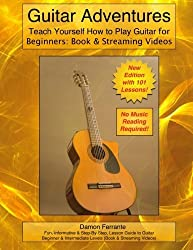 Guitar Adventures: Fun, Informative, and Step-By-Step Lesson Guide, Beginner & Intermediate Levels (Book & Streaming Videos) (Steeplechase Guitar Instruction) by Damon Ferrante (2012-08-18)