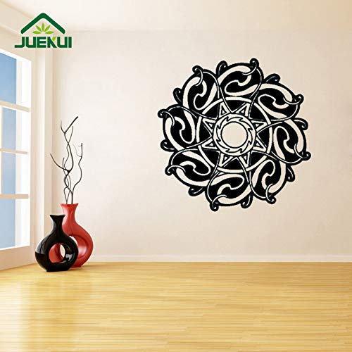 yaoxingfu Knoten Wandaufkleber Für Wohnzimmer Mode Muster Tapetenaufkleber Schlafzimmer Kunst Dekoration Home Murals Vinyl Poster Karte Farbe 42X42 cm