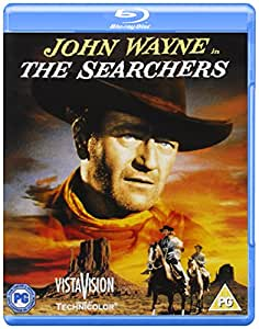 The Searchers [Blu-ray] [Import anglais]