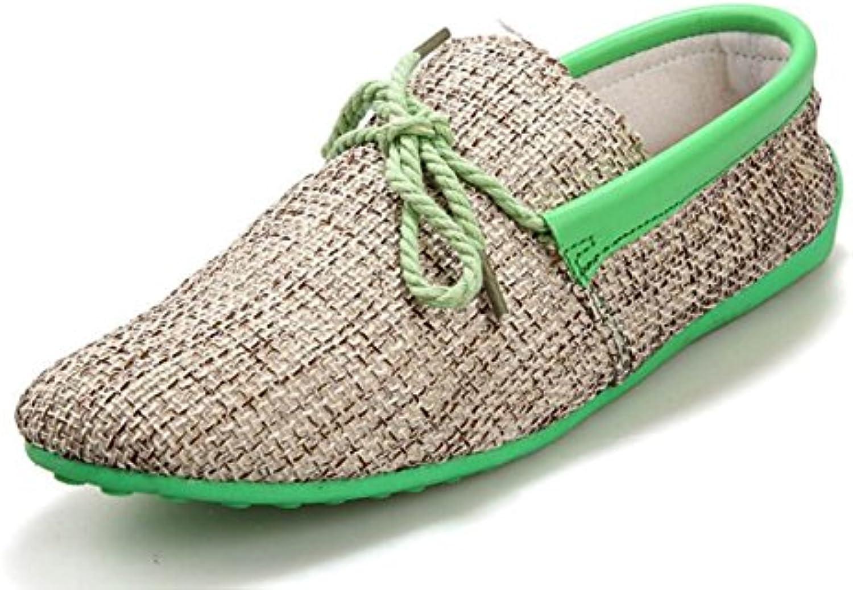 DHFUD Sommer Peas Schuhe Herrenschuhe Koreanische Freizeitschuhe Faule Schuhe