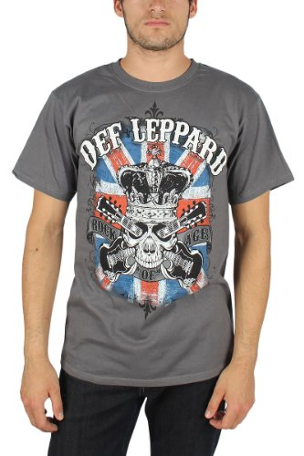 Official Def Leppard Men's Rock Of Ages Shirt. M to XXL