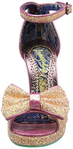 Irregular Choice Flaming June, Sandales Bride cheville femme Rose