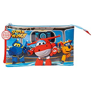 Joumma Superwings Estuches, 22 cm, Multicolor