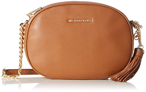 ee5fd2ed16 Michael Kors - Ginny, Borse a tracolla Donna Marrone (Luggage)