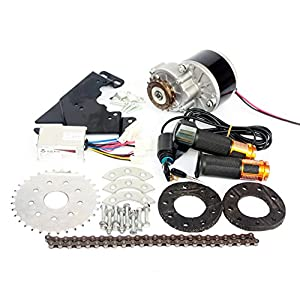 Nuevo kit de conversión eléctrica de la llegada 250W para la impulsión de cadena izquierda de la bici común modificada para requisitos particulares para el derailleur engranado eléctrico de la bicicleta (Twist Kit)
