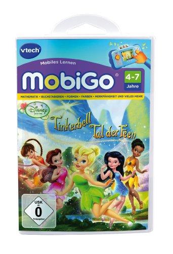 VTECH 80-250904 - MobiGo Lernspiel Tinkerbell - Das Tal der Feen
