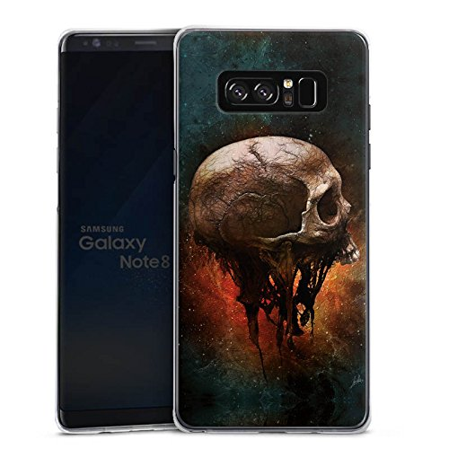 alaxy Note 8 Duos Hülle Case Handyhülle Skull Halloween Scream ()