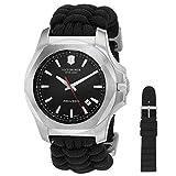 Victorinox Swiss Army Herren Analog Quarz Uhr mit Textil Armband 241726.1