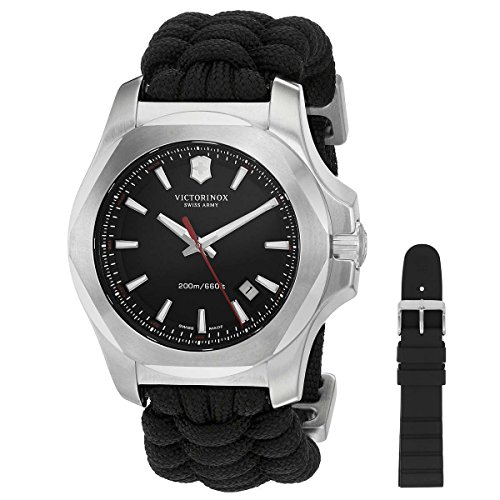 Victorinox Swiss Army Herren-Armbanduhr I.N.O.X. Analog Quarz Textil 241726.1