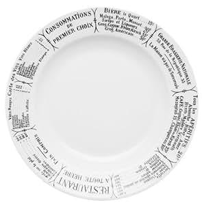 Pillivuyt Brasserie Assiette à soupe, 8 g Par Pillivuyt USA intégrée