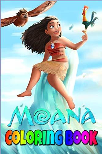 Moana Coloring Book: disney, moana, soundtrack, disney;, maui, music, dreamworks;, vaiana, walt, records, auli'i cravalho, walt disney records, movie ... moana how far i'll go, how far i'll go,