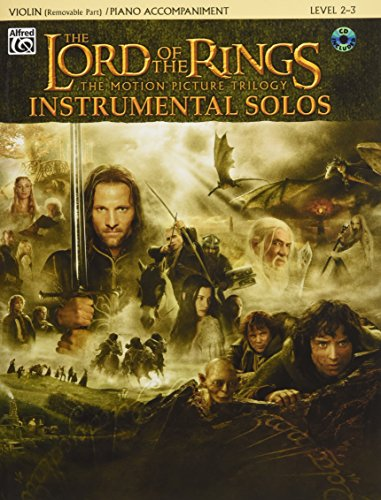 The Lord of the Rings Instrumental Solos for Violin (with CD) par Howard Shore