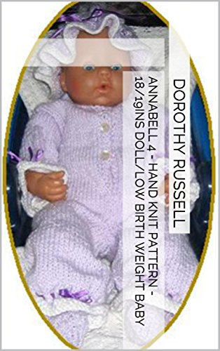 Annabell 4 - Hand Knit Pattern - 18/19ins doll/low birth