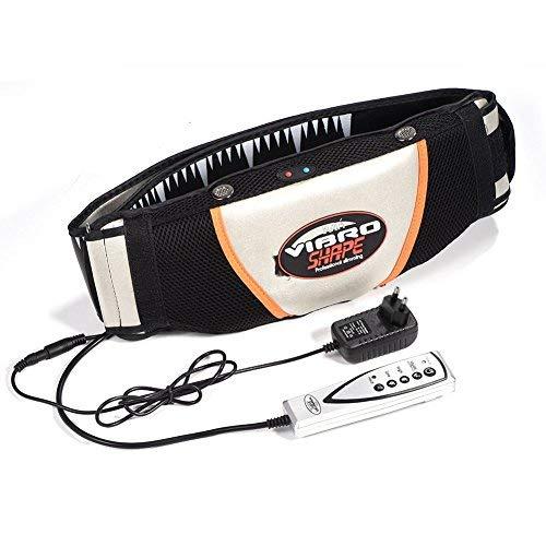 Bauchweggürtel Körperformer, Elektrischer Abnehmen Gürtel Vibrierender Massager für Bauch Vibrierende Maschine Fitnessgürtel