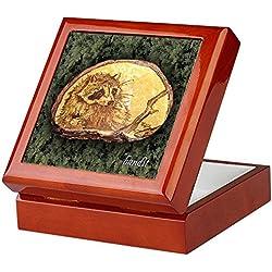 CafePress–Bandit...–Keepsake Box, fertig Hartholz Jewelry Box, Samt Gefüttert Memento Box mahagoni