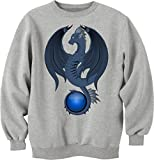 Beautiful ancient night dragon Sweatshirt pullover unisex