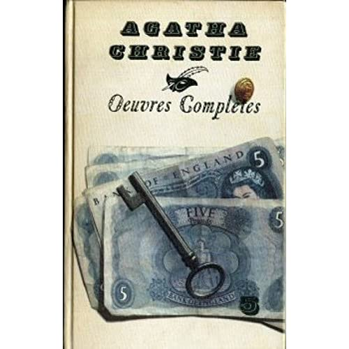 OEuvres complètes d'Agatha Christie - tome 05 - Le meurtre de Roger Acroyd / Un meurtre sera commis le… / Jeux de glaces / Mrs. Mac Ginty est morte