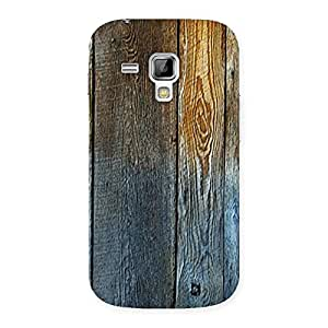 Impressive Wall Bar Wood Back Case Cover for Galaxy S Duos