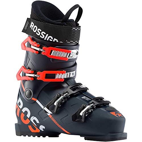 Rossignol Herren Skischuhe Speed Rental Dark Blue - Größe 51 - Schwarz, Schwarz, 25 (Rossignol Ski-stiefel Herren)