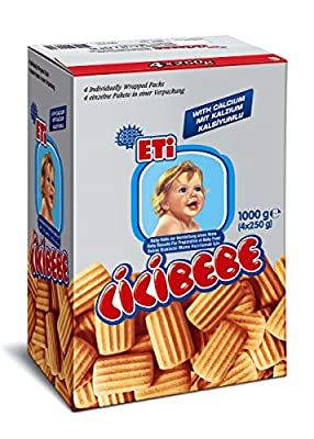 Cici Baby - Baby Biscuit - Source of Vitamins And Minerals - 6 months+ - (4X250 gr) from EtiEti