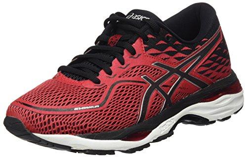 Asics Gel-Cumulus 19, Chaussures de Running Compétition Homme, Rouge (Prime Red/Black/Silver), 39 EU