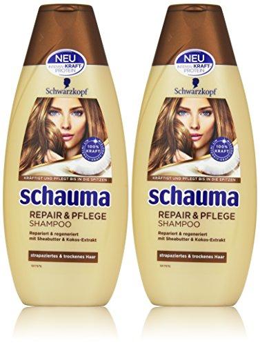 Schwarzkopf Schauma Repair und Pflege Shampoo, 2er Pack (2 x 400 ml)
