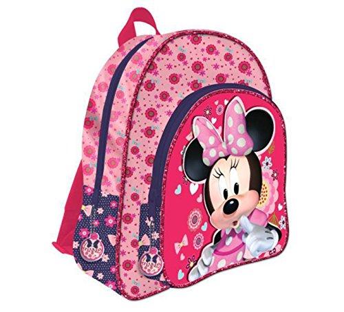 Cartable 2 Zips 41cm Adorable Me Minnie Disney