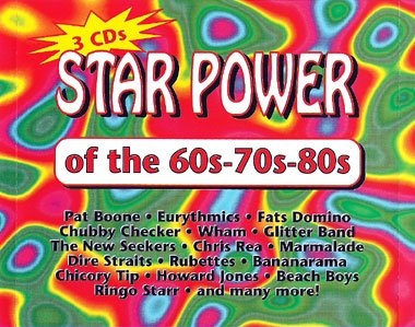Star Power of the 60s-70s-80s (3-CD-Box Set)