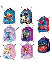 Preisvergleich für (Rucksack Disney Planes, Mickey, Cars, Princess, Prinzessin Sofia oder Eiskönigin)