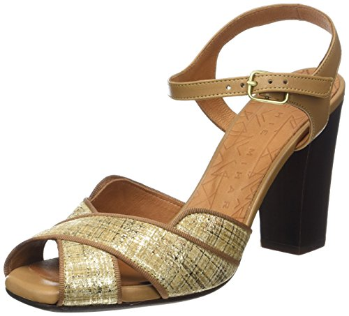 Chie Mihara Adesi, Sandales  Bout ouvert femme Beige (Piano Cuero-Tailu Tan)