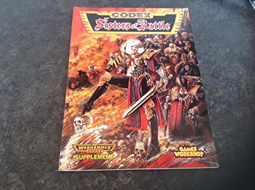 Warhammer 40, 000 Codex: Sisters of Battle by Gavin Thorpe (1997-08-06)